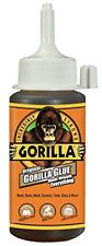 New listing Gorilla Original Waterproof Polyurethane Glue, 4 ounce Bottle, Brown, Pack of 1