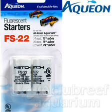 Aqueon All-Glass Fluorescent Lamp/Light Starter FS-22 2pk