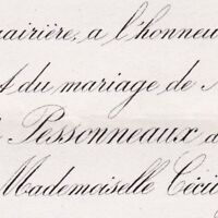 Armand De Pessonneaux Du Pujet Puget-Ville Var 1881 Cécile Marie Thécla Janmot
