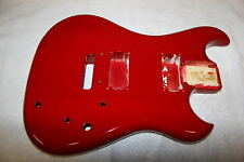 1986 Westone Spectrum ST guitar body RED 2-hums nice