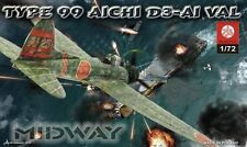 AICHI D3A-1 VAL 'MIDWAY' (JAPANESE NAVY MARKINGS) 1/72 PLASTYK