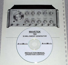 WAVETEK 164  Instruction Manual (Ops & Service)