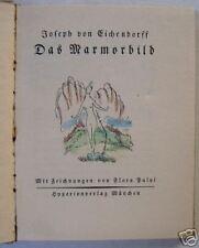 DAS MARMORBILD BY JOSEPH VON EICHENDORFF 1920 & DESIGN