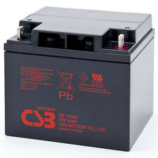 CSB GP 12400 Rechargeable Sealed Lead Acid Battery 12V 40Ah GP12400 SLA