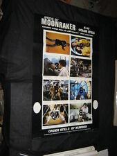 Original MOONRAKER Special Advance Poster & Lobby Card/Still Set - Print Media