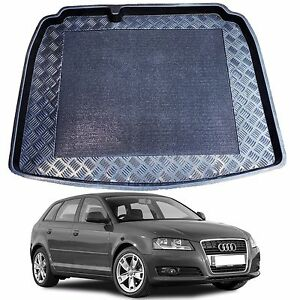 1-3 pc LDPE boot tray rubber load liner mat or bumper protector Audi A3 2003-12
