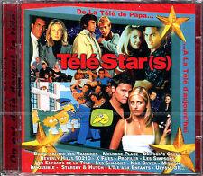 TÉLÉ STAR(S) - GÉNÉRIQUES TÉLÉ SÉRIES PUB FILMS - 2 CD NEUF SOUS CELLO