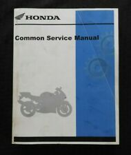 Honda Motorcycle Scooter Atv SxS Common Service Repair Manual 700+ pgs Nice
