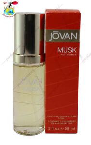JOVAN MUSK BY COTY 2.0 OZ/60 ML EDC SPRAY FOR WOMEN NIB