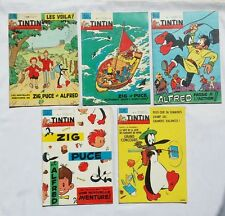 Lot journal Tintin Zig & Puce 759 789 804 819 830 / HERGE GREG / BD / 1963 1964
