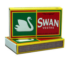 "6 Pack - Swan Vestas ""The Original"" Extra Long Matches - 3 3/4"""