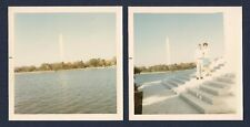 Washington Monument Across the Tidal Basin & People in Foreground 1960's Photos