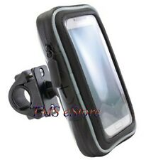 """Bike/Motorcycle Handlebar Mount w/ Large Case for 5.5"""" Cell Smart-phone SMWPC532"""