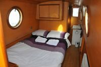 Luxury Canal Boat holiday in March, Narrow Boat Hire
