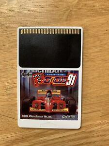 F1 CIRCUS '91 WORLD CHAMPIONSHIP PC Engine GT HuCard Only JPN TurboGrafx 16