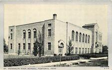 1930s FOSTORIA OHIO St Wendelin High School CLEAR VIEW Wayne Paper 5396