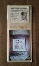Ewe & Eye & Friends ROSE CITY SAMPLER Cross Stitch Pattern - NEW