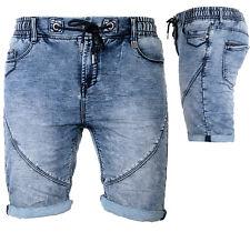 Sublevel Herren Jogg Jeans Shorts kurze Hose Bermuda Sommer Short Sweathose