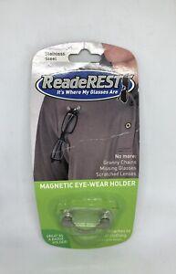 ReadeREST Magnetic Eyeglass Holder - Stainless Steel