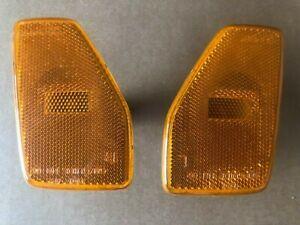 Hummer H3 05 - 10 Front Fender Side Marker Lights Lamps Left Right OEM