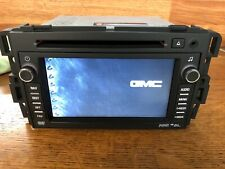 2007-2012 OEM GMC ACADIA NAVIGATION DVD RADIO BUICK ENCLAVE USB & Aux INPUT IPOD