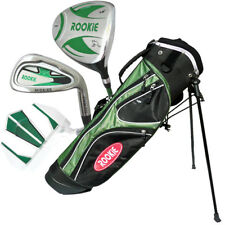 JUNIOR RH GOLF SET NEW GREEN 4 PCE for KIDS 7 to 10yrs WITH MATCHING GOLF BAG