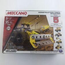 Meccano Maker System Multimodel Construction Crew Chantier 5 Model Set #15203