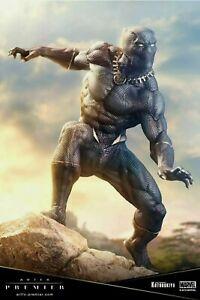Black Panther Kotobukiya ArtFx Premier Statue Brand New in Box