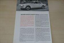202493) Alfa Romeo Giulietta Sprint veloce Prospekt 196?
