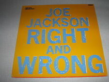 """JOE JACKSON MAXI VINYL 12"""" GERMANY RIGHT AND WRONG"""