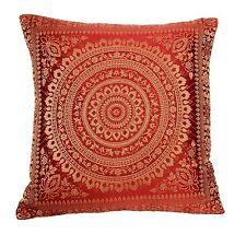 Mandala Cushion Covers Antique Style Banarasi Indian 38cm
