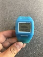 Nixon Translucent Blue Lodown II Men's Digital Tide Watch A289-1781