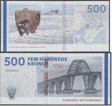 Denmark - 500 Kroner 2009A / 2020 UNC signatures: Callesen and Møller Lemberg-Zp