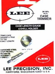 Lee 90157 38 Special Case Length Gage and Shellholder
