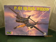 Revell P61 Black Widow Sealed Airplane Model