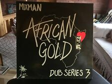 Mixman ‎– African Gold   Dub Series 3  Vinyl LP New