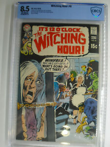 Witching Hour #8, Neal Adams Cover, CBCS, Very Fine+, 8.5, Off-White Pages