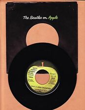 McCARTNEY, PAUL - UNCLE ALPERT / TOO MANY PEOPLE  45 RPM  APPLE  UNPLAYED  1971