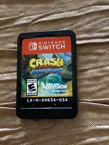 Crash Bandicoot N. Sane Trilogy - Nintendo Switch (NO CASE)