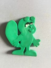 Rocky The Flying Squirrel 1969 Vintage Green Toy