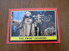 1983 Topps Star Wars Return of the Jedi Ewok Card 84