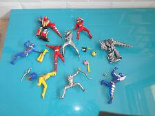 17.7.30.4 Figurines Power Rangers lot de gashapon incomplet DINO THUNDER