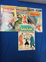 DC Bronze Age: Shazam Comic Lot(4)Mid Grade