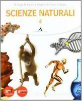 Scienze naturali 4, Mondadori Scuola, CRIPPA/RUSCONI codice:9788824738477