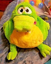"Tummy Stuffers Pajama Carrier Pillow Alligator Crocodile Stuffed Animal Toy 13"""