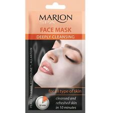 Marion Spa Deeply Cleansig Face Mask 3d - Cleansed and Refreshed Skin in 10 Min