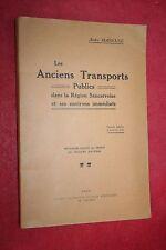 LES ANCIENS TRANSPORTS PUBLICS REGION SANCERROISE ET ENVIRONS A. MAREUSE 1943