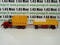 PIN13B + PIN18B 1/43 IXO CIRQUE PINDER : ENSEMBLE Transport Fourrage barrieres