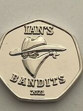 Ian's Bandits 50p Shaped Novelty Coin Limited Edition of 1,000 TGBCH Certified