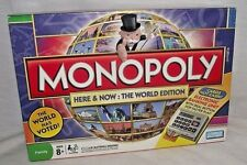Monopoly Here Now World Edition Replacement Banker Tray Insert Instructions Box